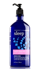 Bath & Body Works Night Time Tea Body Lotion http://www.bathandbodyworks.com/product/index.jsp?productId=13256435